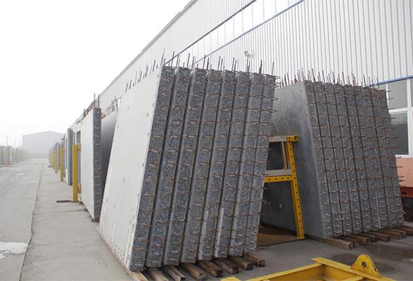 金湖新型墙板安装