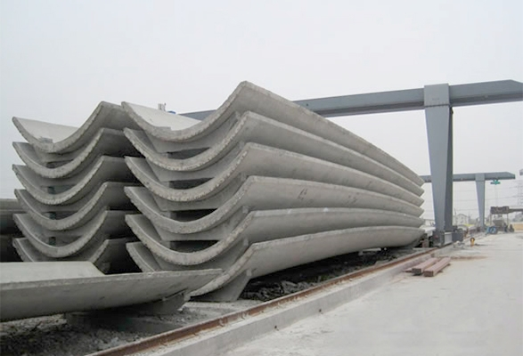 混凝土马鞍形屋面壳